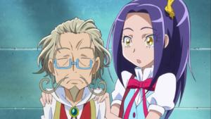 Ellen looks at Otokichi in surprise