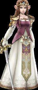 HW Zelda Era of Twilight Robes Render