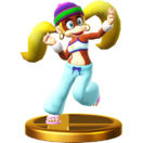 Tiny Kong's other trophy
