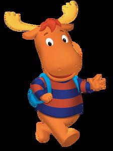 The Backyardigans Tyrone Backpack Nickelodeon Nick Jr. Character Image