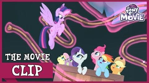 The Mane 6 Escape From Tempest To Mount Aris! My Little Pony The Movie Full HD