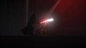 Vader stomps