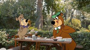 Geico Yogi Bear Joins the BBQ hed 2021