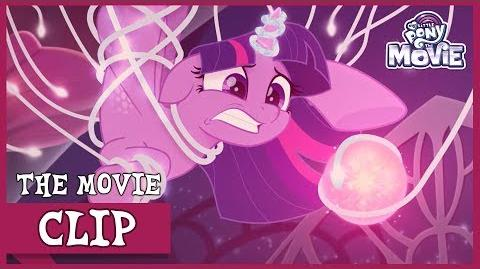 Twilight Tries To Steal Queen Novo's Pearl My Little Pony The Movie Full HD
