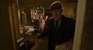 Arthur Hoggett living room mess