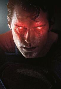 BATMAN V SUPERMAN DAWN OF JUSTICE (2016) SUPERMAN KEY ART