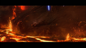 Darth Vader amputated