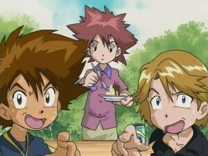 Taichi, Jun and Yamato.