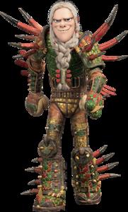 Tuffnut (Dragon Scale Armor - No Helmet)