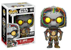 C-3PO unfinished POP