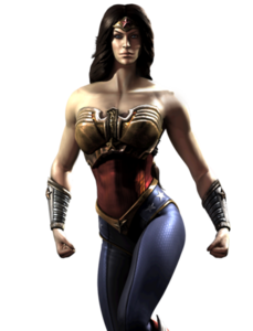 Diana of Themyscira (Injustice Gods Among Us) 001