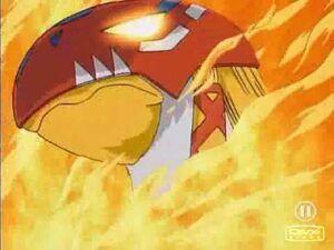 Garudamon flame