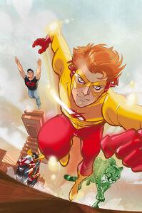 Kid Flash Bart Allen 0012