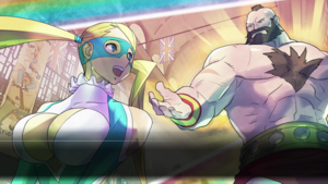 SFV - Mika and Zangief