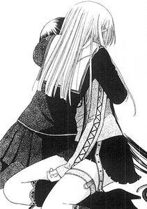 Tohru hugs Rin