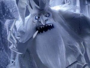 Winter Warlock when he was mean and despicable
