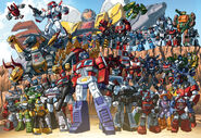 All Autobot members