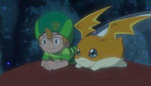 Ep 34 - Takeru and Patamon