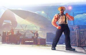 Guile (Street Fighter V)