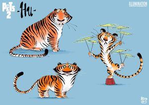 Hu - The Secret Life of Pets 2 concept art 3