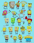20 years of Spongebob SquarePants
