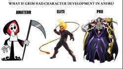 Grim evolution