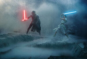 TROS Photography - Kylo Ren and Rey duel