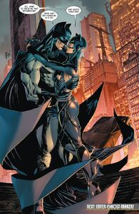 Batman and Catwoman in the of Batman -101
