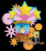 SpongeBob-Mrs-Puff-fortune-colorful-stock-art