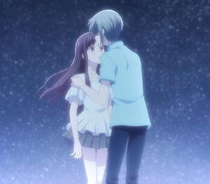 Yuki kiss Tohru