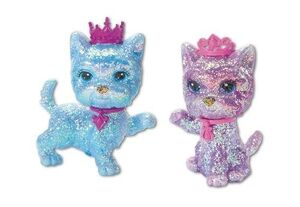Barbie & The Diamond Castle Puppy Figures