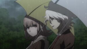 Komaeda and Nanami walk together