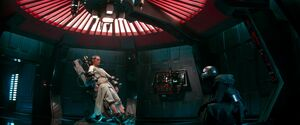 Rey and Kylo interrogation scene 2