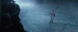 Rey meets the Emperor