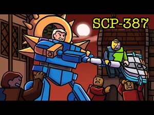 SCP-387 Living Lego (SCP Animation)