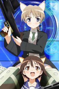 Strike-Witches.Yoshika-Miyafuji.Lynette-Bishop.640x960