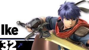 32 Ike – Super Smash Bros