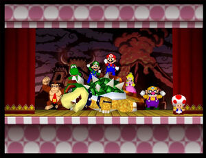Mario party 2 64 all characters in the ending
