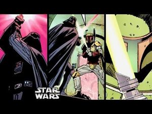How Vader and Boba Fett Fought Each Other in LIGHTSABER Combat! (Legends)