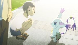 Kari and Gatomon (1)