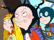 Mona, Princess Giant and Zapman