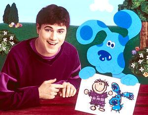 Blue with Joe