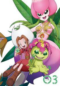 Digimon Adventure (2020) DVD Vol 3 - Mimi and Palmon