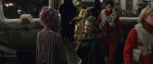 Holdo and Leia
