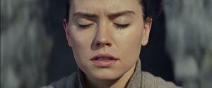 Rey feels the darkside