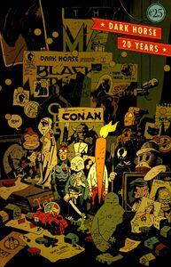 20 Years Of Dark Horse Cover