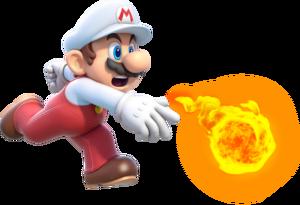 Fire Mario Super Mario 3D World