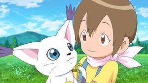 Gatomon and Hikari
