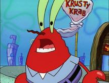 Mr. Krabs fired SpongeBob