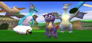 Spyro ending
